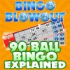 90 ball bingo explained at Bingo Blowout