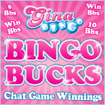 Bingo Bucks Make the World Go Round at Gina Bingo